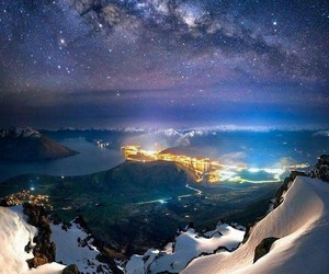 stars, new zealand, and travel image