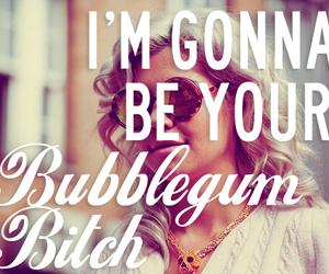 marina and the diamonds, bubblegum bitch, and Lyrics image