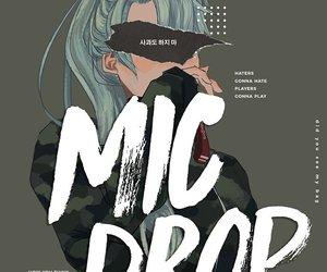 bts, mic drop, and suga image