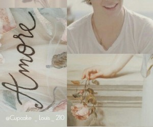 background, collages, and dimples image