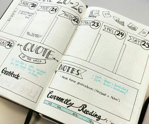 creative, journals, and notes image