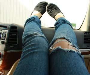 toms, girl, and jeans image