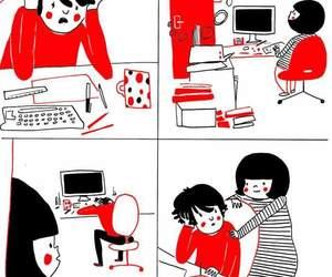 comics, rice, and illustrations image