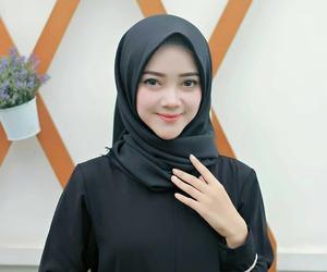 hijab, pretty, and sweet image