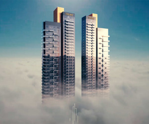 building, business, and trump tower gurgaon image