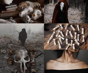 black magic, magical, and illuminate image