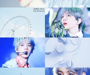 aesthetic, blue, and Chen image