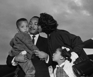 family, icon, and MLK image