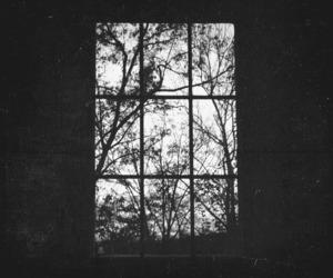 window, grunge, and vintage image