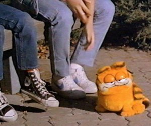garfield, grunge, and 90x image