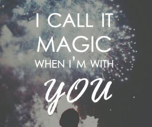 magic, love, and coldplay image