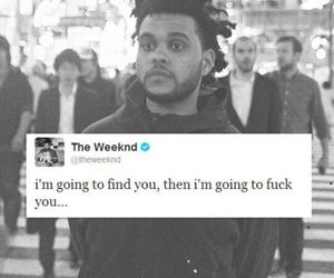 the weeknd, quotes, and twitter image