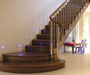 custom, spiral stairs, and stairs image