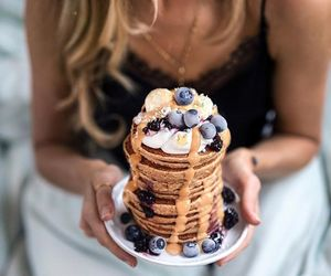 berries, breakfast, and fitness image