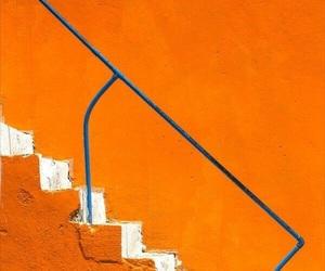 orange, aesthetic, and blue image