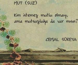 cemal süreya and turkce soz image