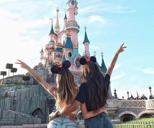 disney, friends, and girl image