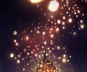 disney, tangled, and light image