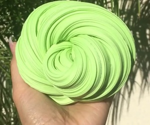 apple, green, and slime image