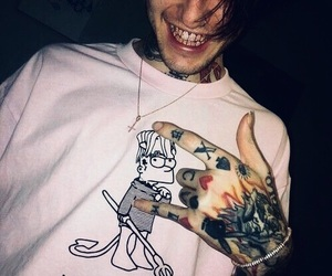 lil peep, lilpeep, and pink image