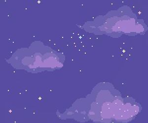 clouds, background, and pixels image