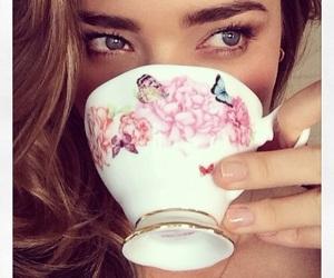 miranda kerr, model, and tea image