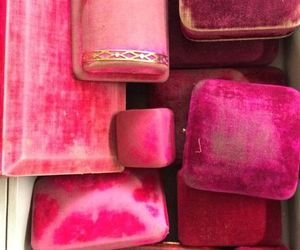 boxes, pink, and fuschia image