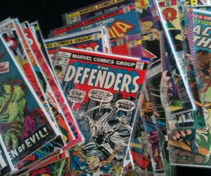 aesthetic, comics, and comic books image