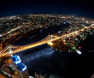 night, lights, and city image