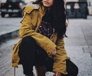 clothes, fall fashion, and flannel image
