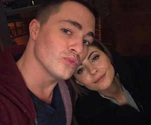 couple, willa holland, and colton haynes image