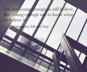 background, champion, and fall out boy image