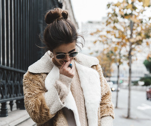girl, style, and brunette image