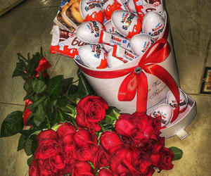 flower, gift, and sweet image