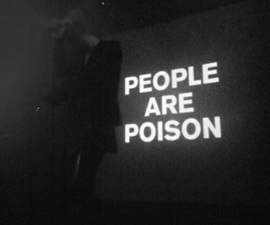 fuck, people, and poison image