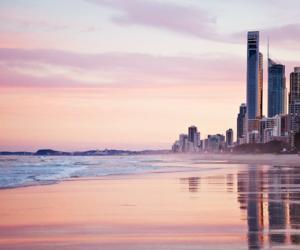 australia, city, and sunrise image