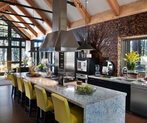 inspiration, kitchen, and kitchen design image