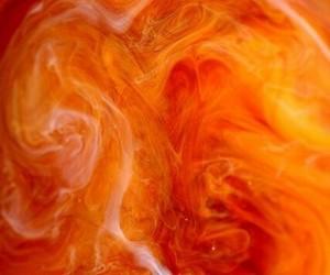 orange, background, and swirl image