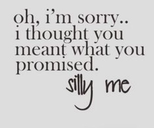 quotes, promise, and silly image