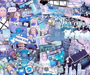 blue, edits, and tanamongeau image