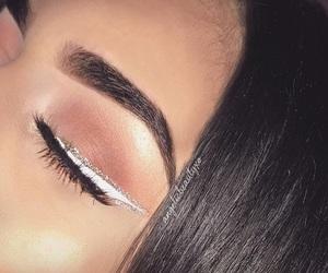 art, eyeliner, and flawless image