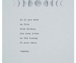 moon, quote, and poetry image