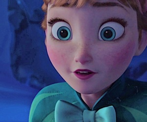 anna, frozen, and close up image