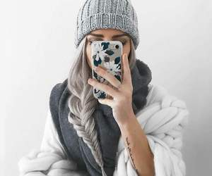 style, hair, and winter image