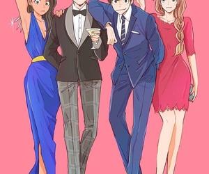 karamatsu, todomatsu, and osomatsu san image