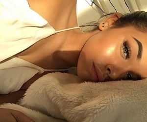 girl, makeup, and highlighter image