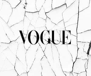 vogue, white, and black image