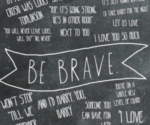 brave, courage, and larry stylinson image