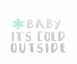 baby, pattern, and snow image