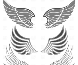 angel, wings, and clipart image